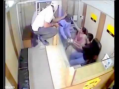 CCTV Footage of   money exchange ROBBERY