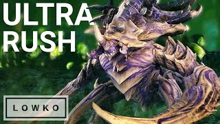 StarCraft 2: Ultralisk RUSH!
