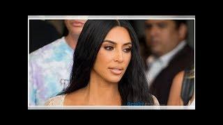 Kim Kardashian deslumbra con braless en blusa semitransparente