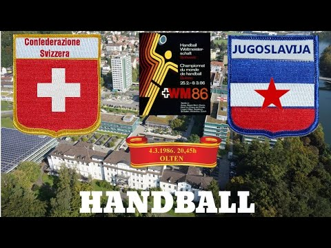 Handball World Cup Jugoslavija - Swiss Švajcarska rukomet sport Switzerland
