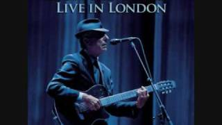 Leonard Cohen Recitation with N.L. from Live in London