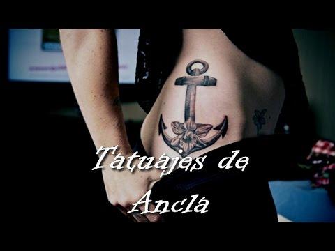 Tatuajes De Ancla Youtube