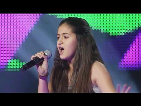 فيديو اغنية حفصة ذكري Super Bass من برنامج ذا فويس كيدز كاملة HD / مشاهدة اون لاين