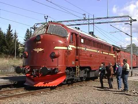 Diesellocomotive NSB Di 3 a 616