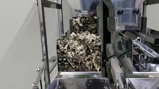 김부각 100g 계량 실패, 견과계량기, 견과포장기계 …