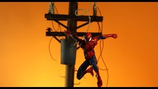 how to make an Electrical Power Pole for your Dioramas.
