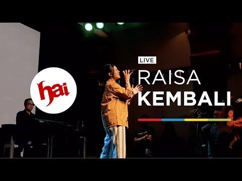 RAISA - KEMBALI (LIVE)