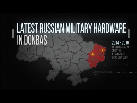 Video Overview of the Russian Weaponry in Donbas