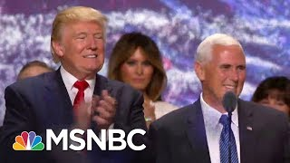 Mike Pence Not Without Options To Pay Legal Defense Bills | Rachel Maddow | MSNBC