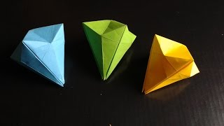 Origami Paper Diamond Easy