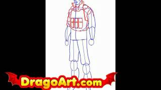 How to draw GI Joe Duke, step by step