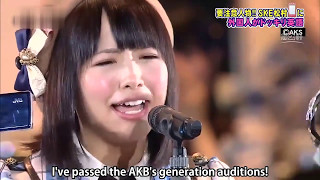 Mastumura applied for SKE48's 2nd generation auditions in March 200...