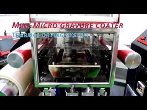 Mini gravure coater