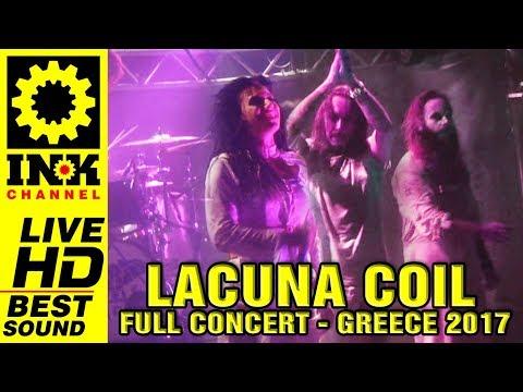 LACUNA COIL - Full Concert [18/11/2017 Thessaloniki Greece]
