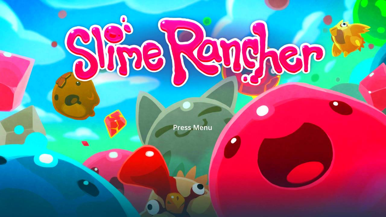 Slime Rancher Title Screen Xbox One YouTube