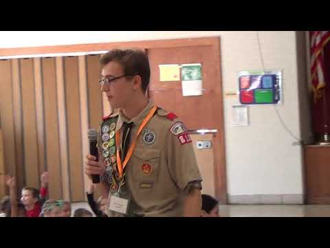 Nathan's Eagle Scout Project Presentation - Enfield Street School Buddy Bench