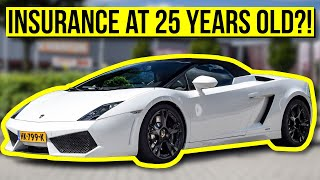 10 INSANE Cars with CHEAP INSURANCE for Young Drivers! (When they turn 25...)