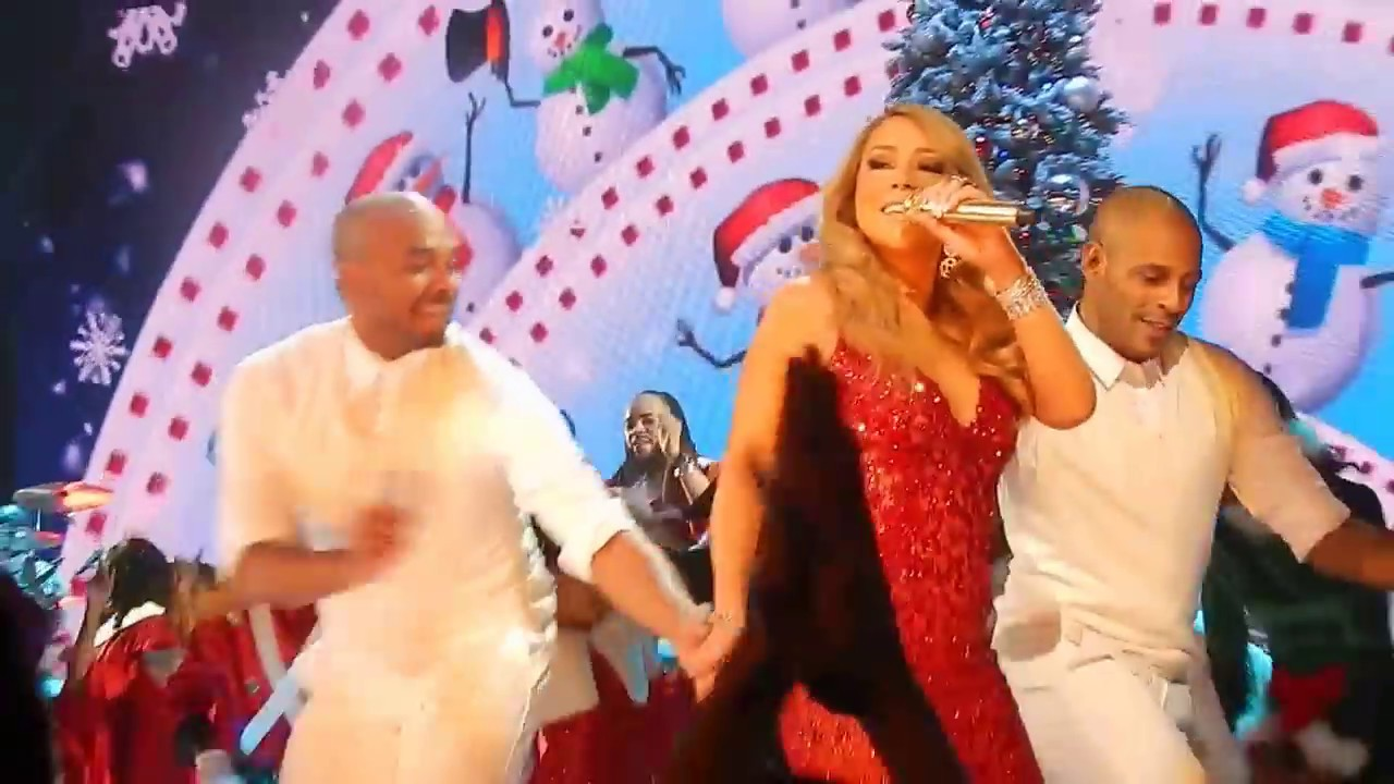 HD) Mariah Carey - All I Want for Christmas Is You live Beacon ...