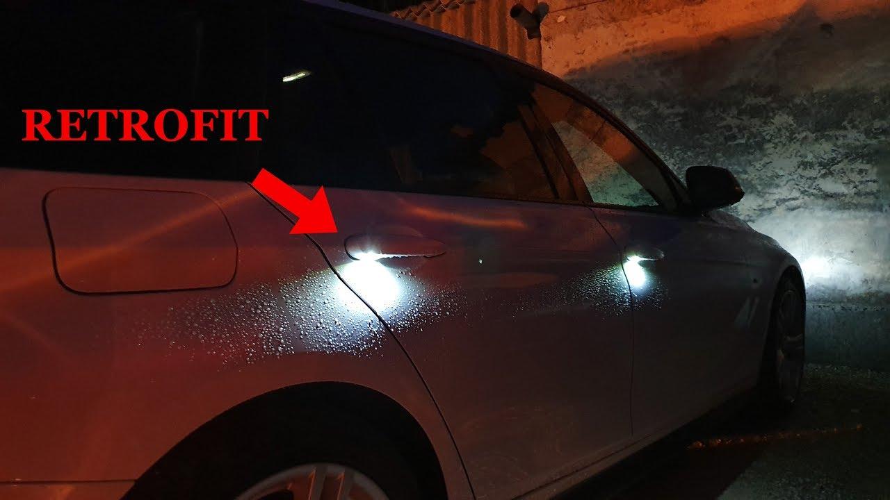 Bmw F30 20 Welcome Lights Retrofit Youtube