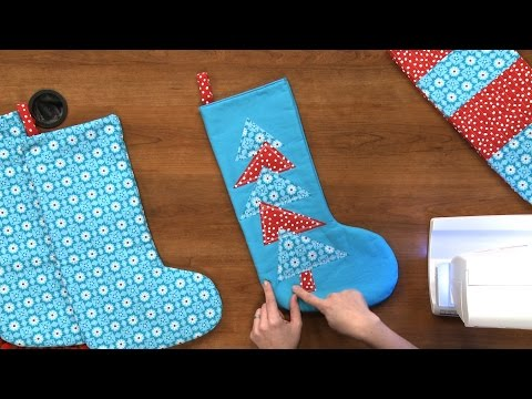 How to Make a Christmas Stocking | National Sewing Circle
