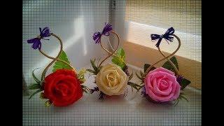 Bouquet de flores artesanais para presente
