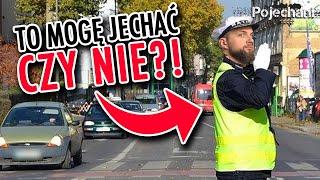 Co oznaczają gesty policjanta kierującego ruchem?
