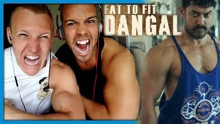 DANGAL | Aamir Khan Body Tranformation | Fat to Fit | DIET | VCREATIONS | Reaction by RnJ