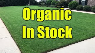 Organic Lawn Fertilizer Update