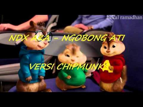 NDX AKA - NGOBONG ATI (VERSI CHIPMUNKS)