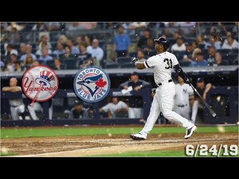 New York Yankees Highlights: vs Toronto Blue Jays | 6/24/19