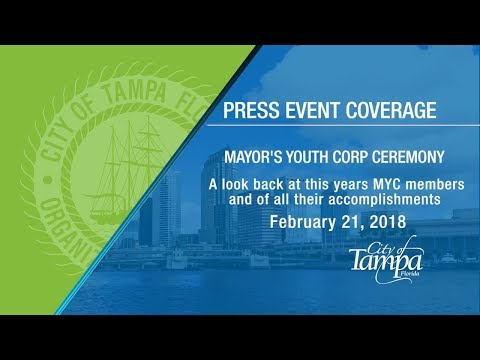 Mayor's Youth Corp Event 2018