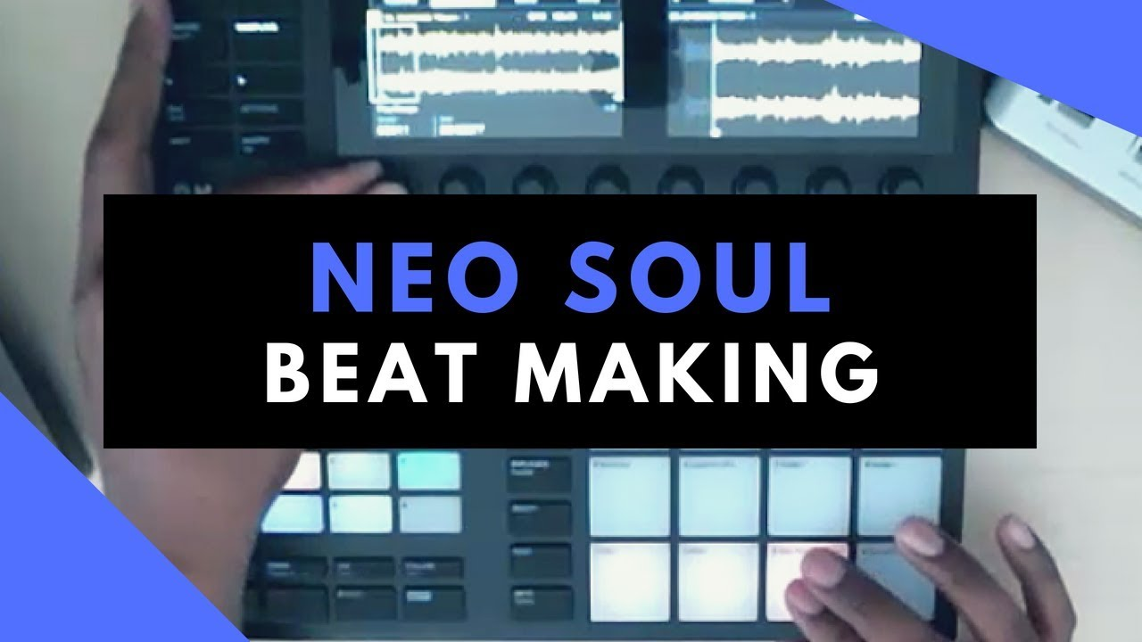Smooth Neo Soul | Beat Making In Maschine MK3 | Sample Pack Review
