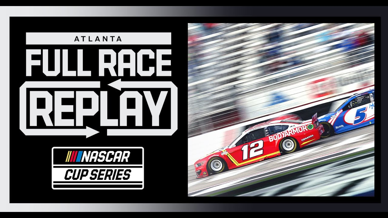 Folds of Honor QuickTrip 500 from Atlanta Motor Speedway | NASCAR Cup Series Full Race Replay