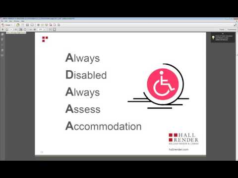 Reasonable Accommodation in an Unreasonable Legal Environment