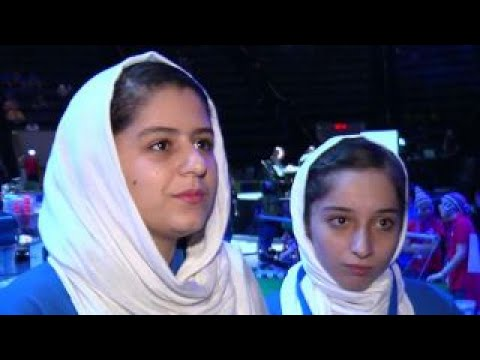 Trump helps Afghan girls' robotics team compete in US
