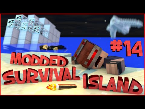 Survival Island Modded - Minecraft: A Tough Escape! (STORY)