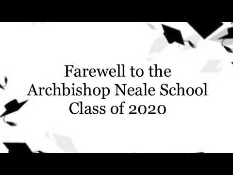 Archbishop Neale School Class of 2020