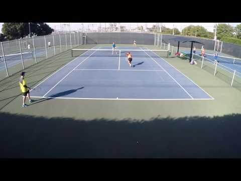 Highpoint Tennis Mixed Doubles B-2 Fall 2016