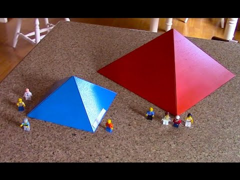 Ancient and modern Pyramids. Project for school