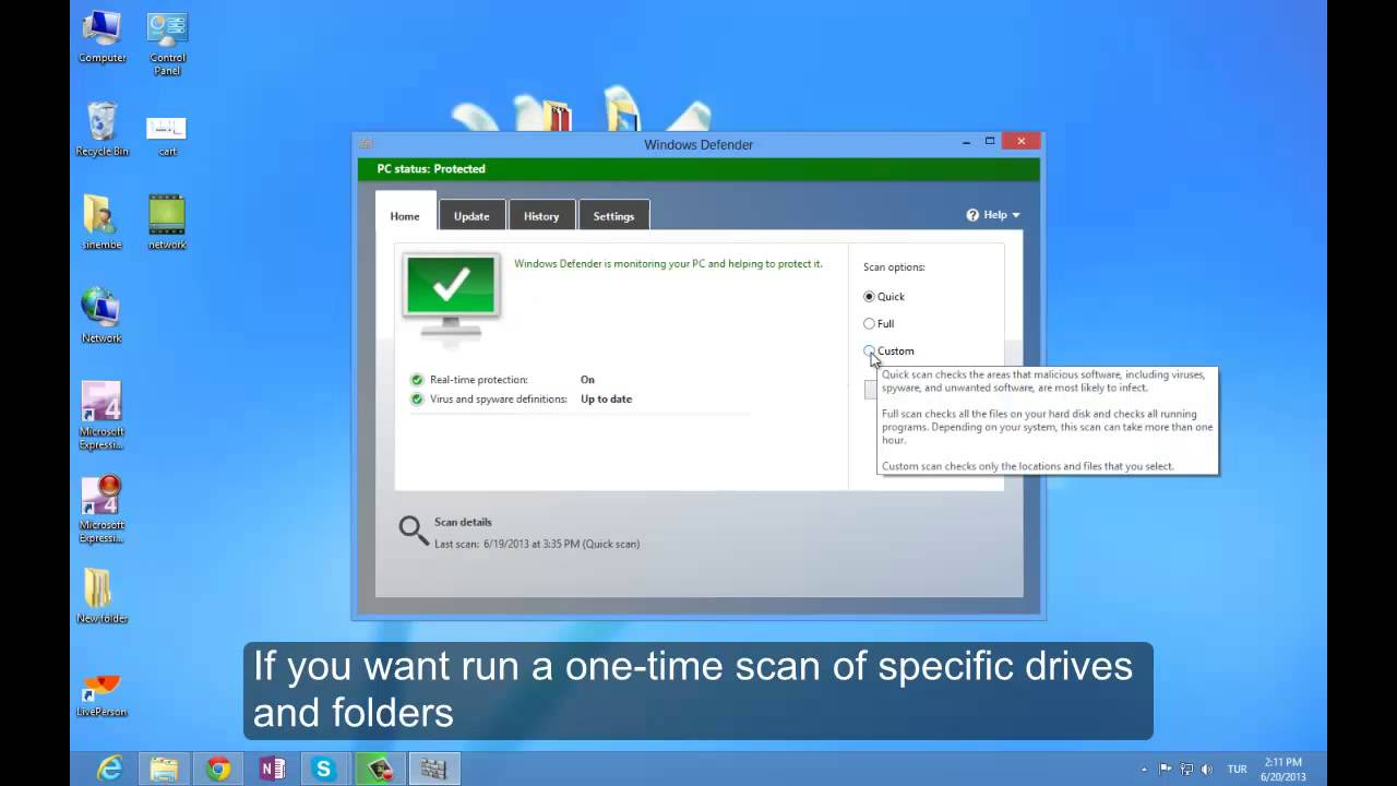 Protect your Windows 8 PC against malware