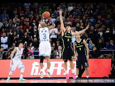 Beijing Ducks vs. Guangdong Southern Tigers Game 4 CBA semi-finals