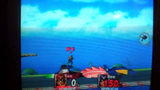 SSBB F Zero Gx Captain Falcon vs Blood Falcon