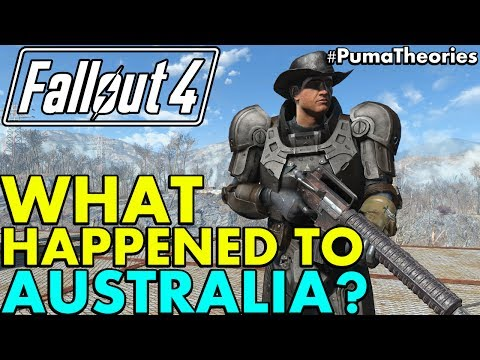 Fallout 4 Theory: What Happened to Australia Post W-A-R? (Lore and Theory) #PumaTheories