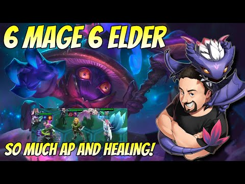 6 Mage 6 Elderwood Veigar is OP! | TFT Fates | Teamfight Tactics