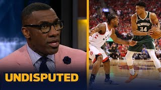 Giannis Antetokounmpo deserves a D- grade for Game 3 performance — Shannon Sharpe   NBA   UNDISPUTED