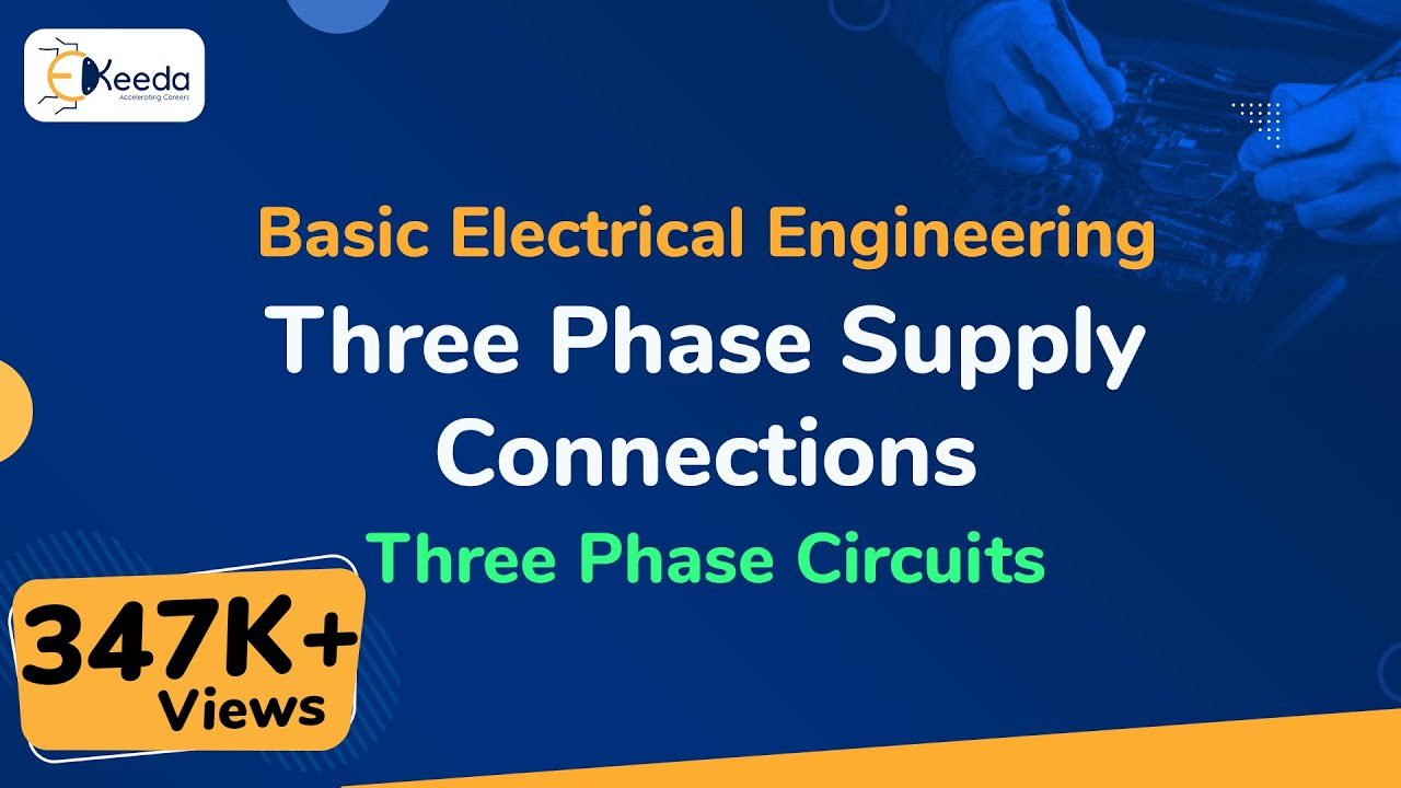 Three Phase Supply Connections Circuits Basic Star Delta Wiring Diagram Harness Threephasecircuits Basicelectricalengineering Beevideolectures