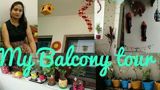 Balcony tour,small indian  balcony garden,how i organise my balcony,anvesha,s creativity