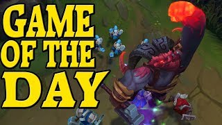 Ornn vs Nasus S8 - Top - Battle Of The Gods (Game Of The Day) - League Of Legends