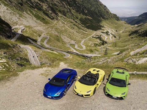 Roadtrip sur la Transfagarasan en Lamborghini Huracan