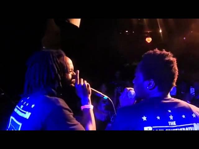 The Black Confederation Live x Vinyl Center Stage